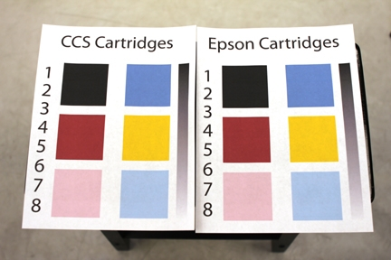 CCS-Digital output VS Epson